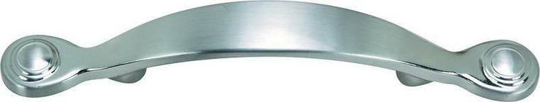 Hardware House 3-in World Look Cabinet Pull, Satin Nickel