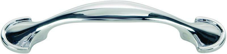 Hardware House 3-in Spoon Cabinet Pull, Chrome