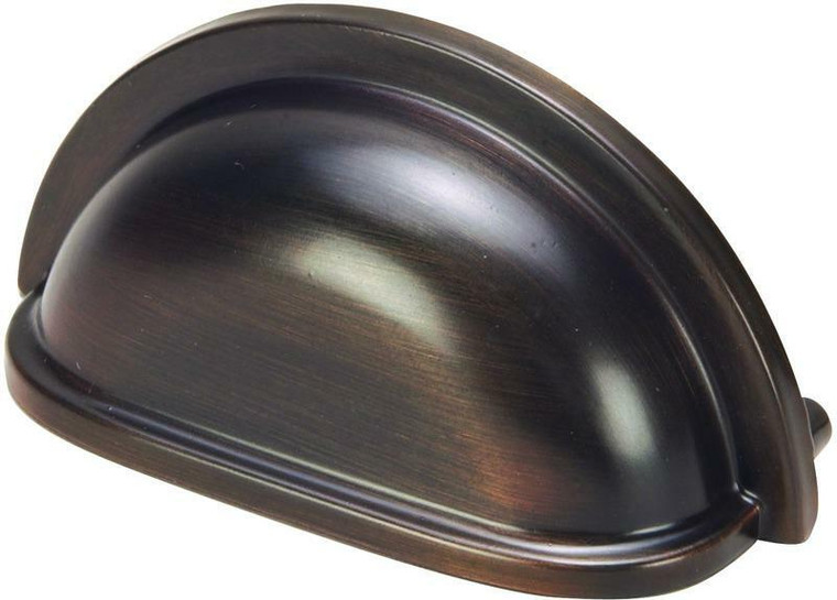 Hardware House 3-in Cabinet Cup Pull, Classic Bronze