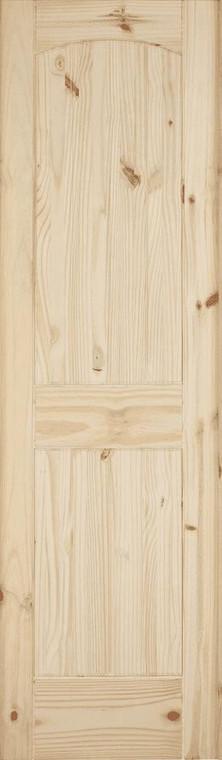 24 in x 80 in Cheyenne Knotty Pine Solid Core Interior Door Slab