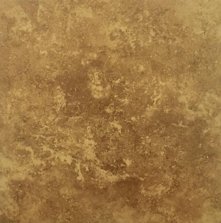 Eleganza Travertine Mocha Porcelain Tile 18x18 - dollar0.69 sf