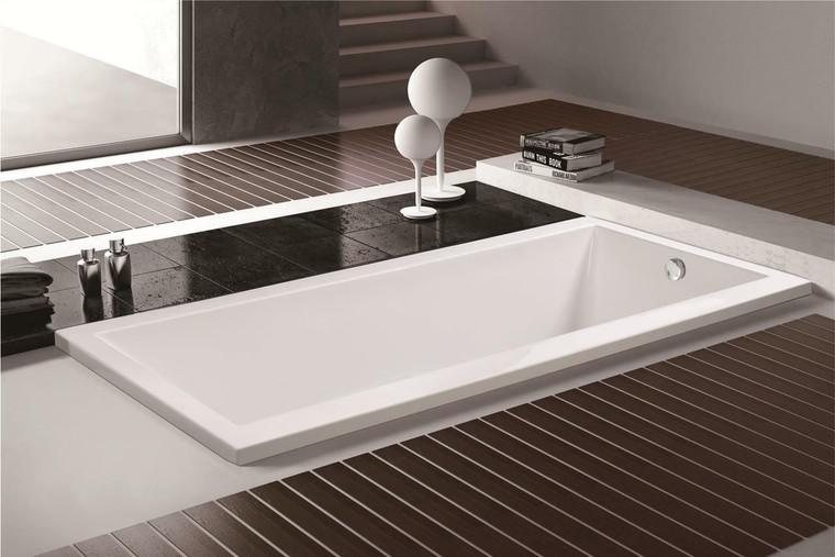 Olympia Acrylic Drop-In Bathtub in White or 59