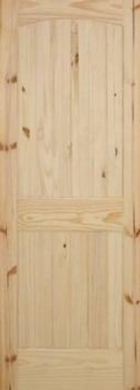 32 in x 80 in Cheyenne Knotty Pine Solid Core Interior Door Slab