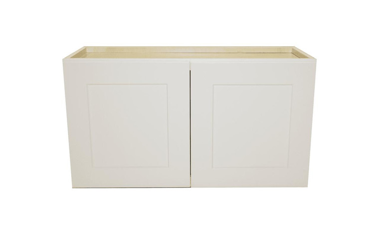 White Shaker Maple Wall Cabinet