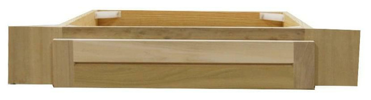 30 in Knee Drawer in Unfinished Poplar for Vanity Cabinet or Shaker Style