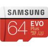 Samsung 64GB EVO Plus Class 10 UHS-I microSDXC U3 with Adapter
