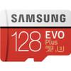 Samsung 128GB EVO Plus Class 10 UHS-I microSDXC U3 with Adapter