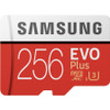 Samsung 256GB EVO Plus Class 10 UHS-I microSDXC U3 with Adapter