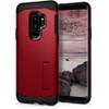 Spigen Slim Armor Case for Samsung GS9+ in Merlot Red