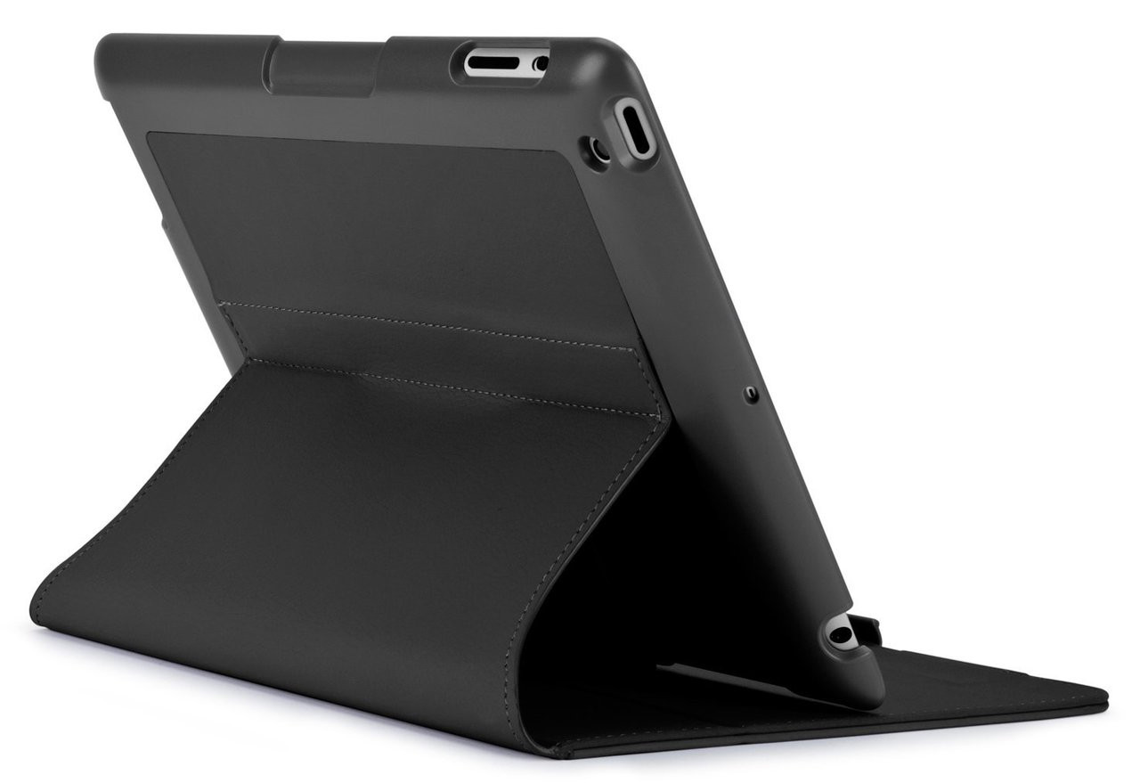 new arrivals ea9a8 8b149 Speck 71898-1041 FitFolio Protective Case for iPad 2/3/4, Vegan Leather -  Black