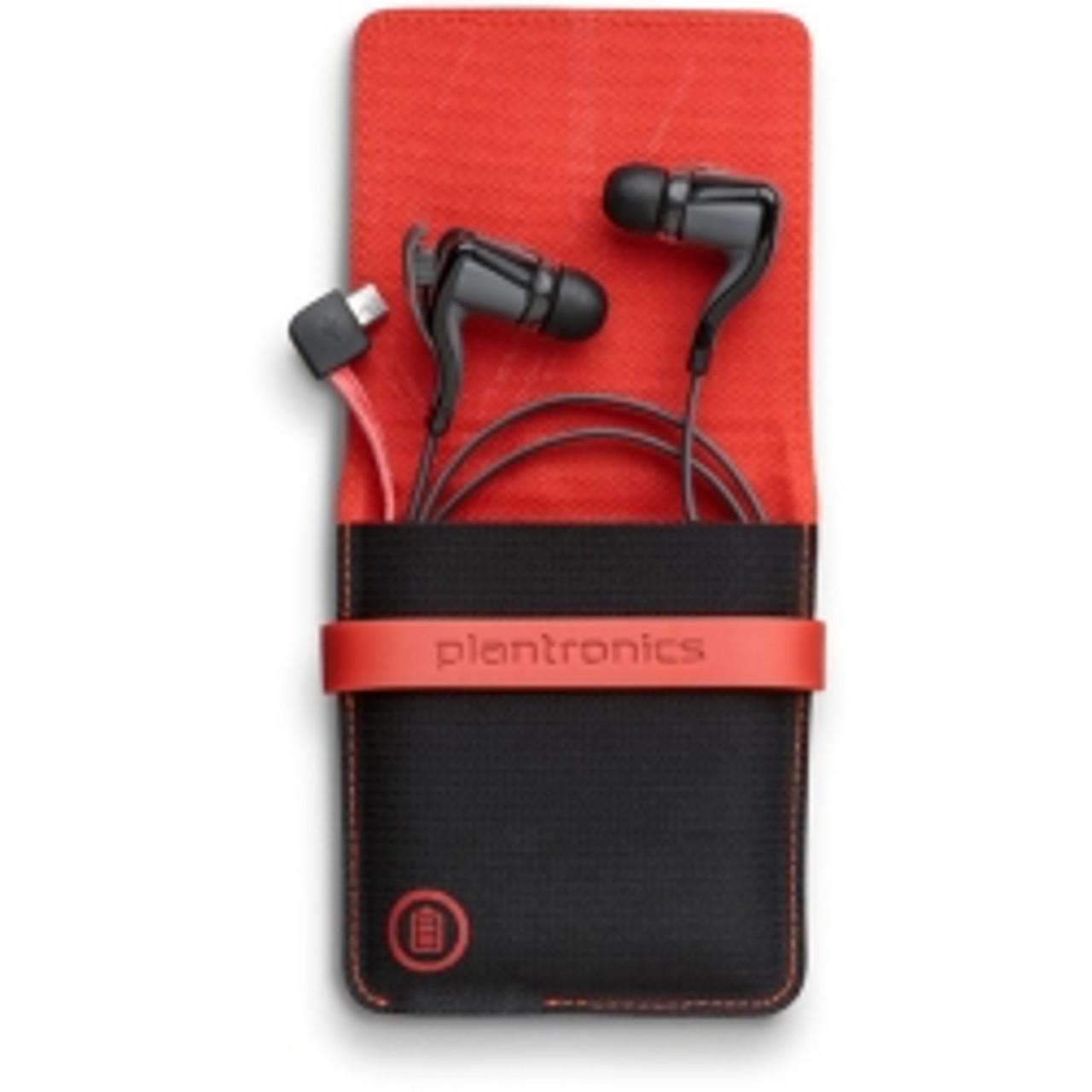 Plantronics Backbeat Go 2 In Ear Only Headsets Black