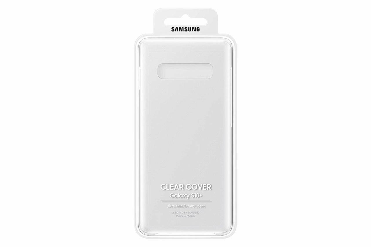 buy online af63a 94d90 Samsung Galaxy S10 Edge Clear Cover - Transparent