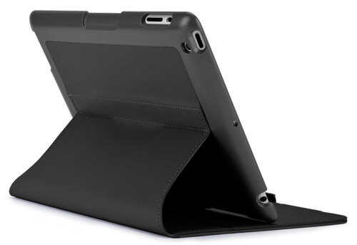 Speck 71898-1041 FitFolio Protective Case for iPad 2/3/4, Vegan Leather - Black