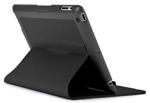Speck 71898-1041 FitFolio Protective Case for iPad 2/3/4, Vegan Leather - Black