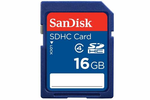 SanDisk Class 4 SDXC Flash Memory Card 16GB