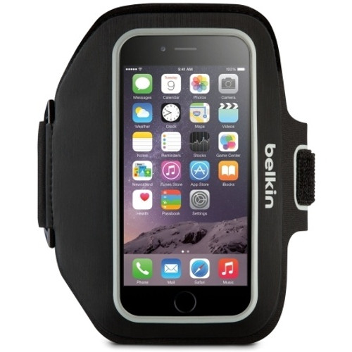 Belkin - Sport-Fit Armband iPhone 6 Blacktop OverCast