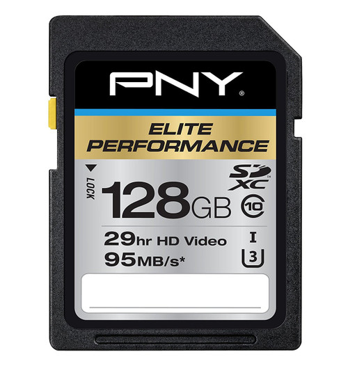 PNY Elite Performance 128GB Flash Memory High Speed