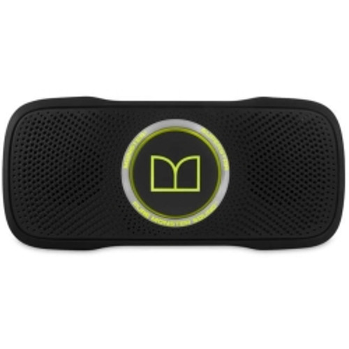 Monster, LLC - SuperStar BackFloat Bluetooth Speaker Black/Green