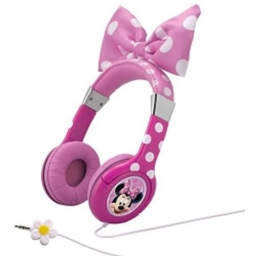 KidDesigns Inc. - Minnie Mouse Bowtastic Headphones