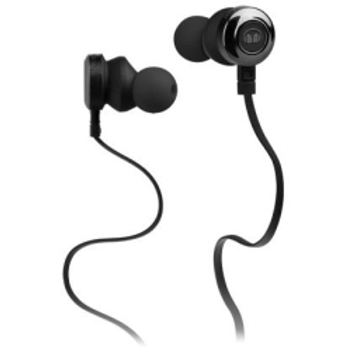 Monster, LLC - Clarity HD In-Ear Headphones in Black