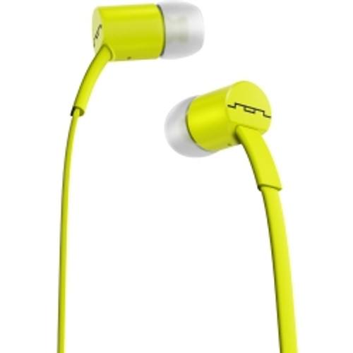 Sol Republic - JAX In-Ear Headphones with In-Line in Lemon Lime