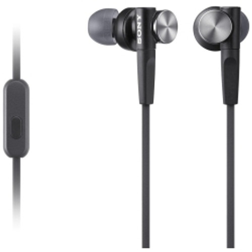 Sony North America - XB50AP EXTRA BASS In-Ear Headphones in Black