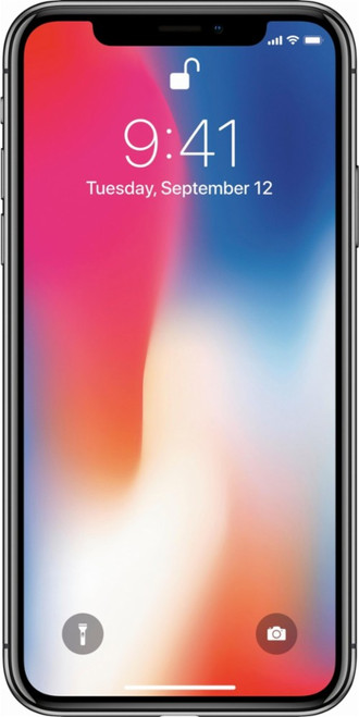 iPhone X factory unlocked Space Gray