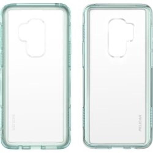 Pelican Adventurer Samsung GS9+ Case in Clear/Aqua