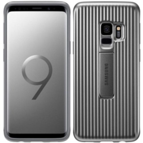 Samsung - Rugged Protective Cover for Samsung GS9 in silver