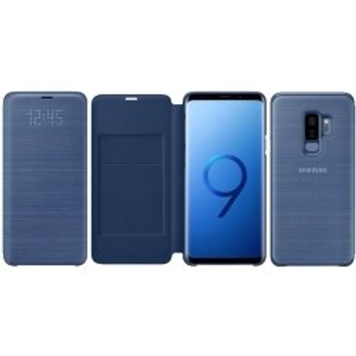 Samsung - LED Wallet Cover for Samsung Galaxy S9+ plus