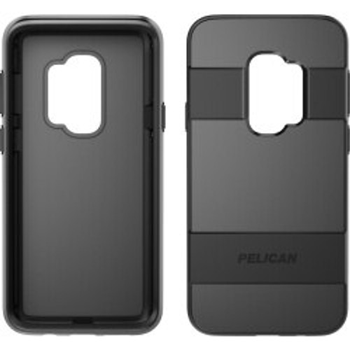 Pelican Products - Voyager Case for Samsung GS9/GS9+ in Black/Black