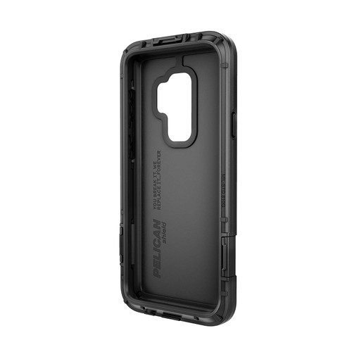 purchase cheap 961c2 cc1b9 Pelican Shield Case for Samsung Galaxy S9 and Galaxy S9+ in Black/Black