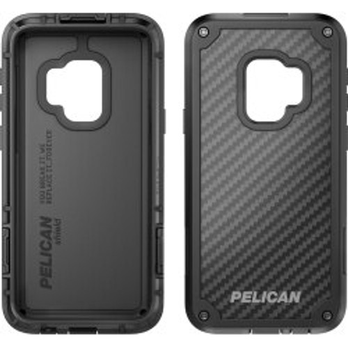 Pelican Products - Shield Case for Samsung GS9+ in Black/Black C39140-001A-BKBK