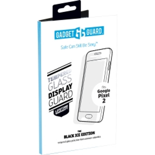 Gadget Guard - Black Ice Glass Screen Guard for Google Pixel 2