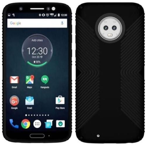 Speck - Presidio Grip Case Motorola G6 Black