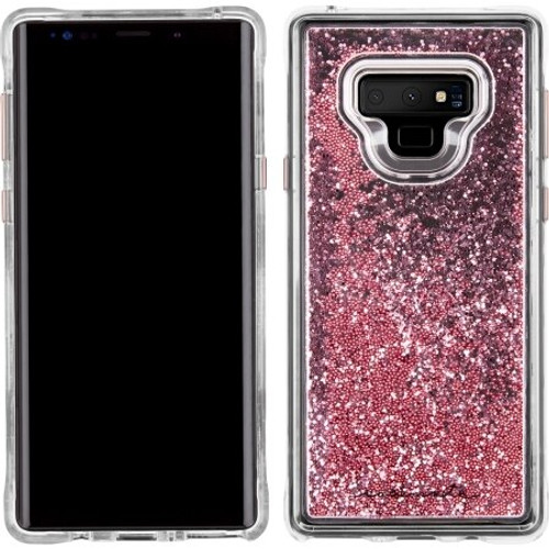 Case-Mate Waterfall Case for Note 9  Rose Gold