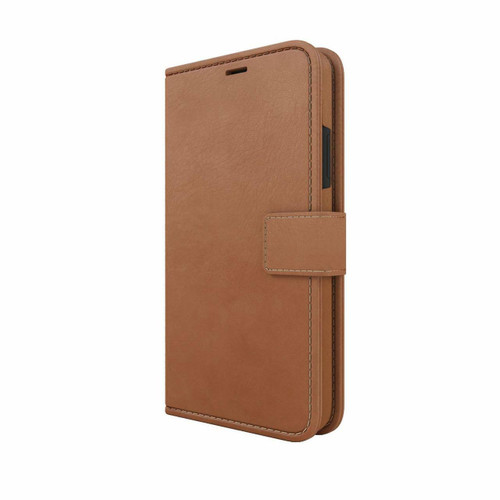 Skech Polo Book Wallet Protective Cover Detachable Case for Apple iPhone XR brown