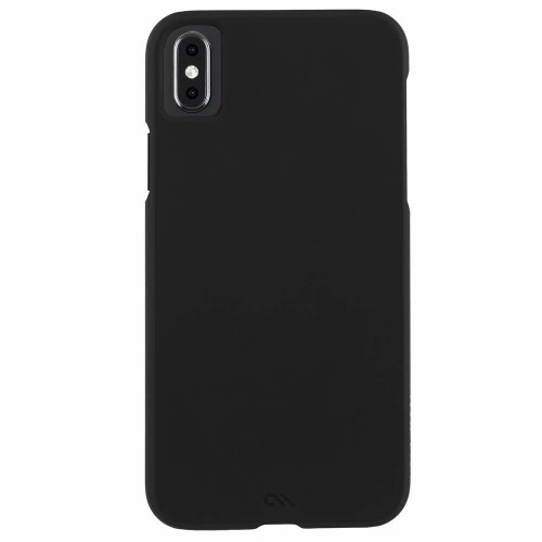 Case-Mate BARELY THERE LEATHER iPhone XS, XR and XS MAX Black