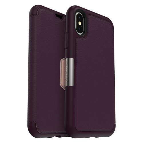 Otterbox Strada Folio iPhone XS, XR and XS Max Royal Blush
