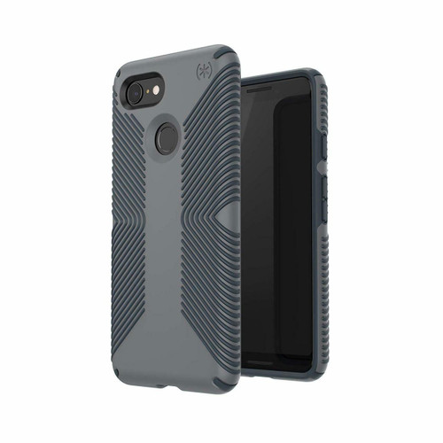 Speck Presidio Stay Clear Google Pixel 3 and Pixel 3 XL Gray