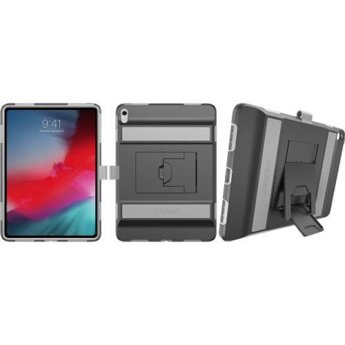 "Pelican Voyager Case for iPad 11"" 2018 in Black/Light Gray C46120-001B-BKLG"