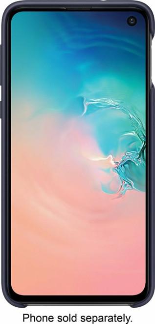 Samsung Galaxy S10e Non-Slip, Soft-Touch Silicone Cover Navy blue EF-PG970TNEGUS