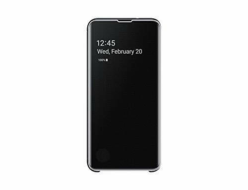 Samsung Galaxy S10E Clear View Stand Cover Case black EF-ZG970CBEGWW