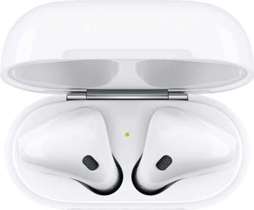 Apple - AirPods 2 with Charging Case - White MV7N2AM/A