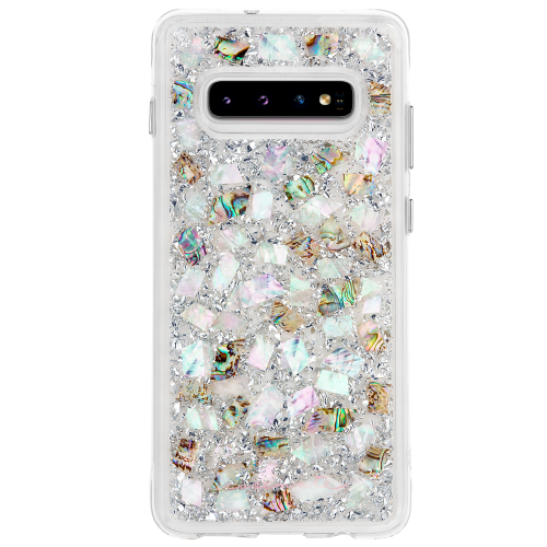 Case-Mate Karat Case Samsung Galaxy S10/S10+/S10e in Mother of Pearl