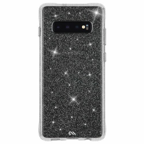 Case-Mate Sheer Crystal Case for Samsung Galaxy S10/S10+/S10e in Clear