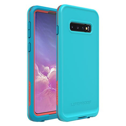 Lifeproof fre Waterproof Case Samsung Galaxy S10/S10+/S10e in Boosted