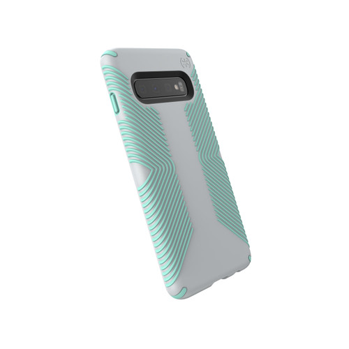 Speck Presidio Grip Samsung Galaxy 10e in Dolphin Grey/Aloe Green