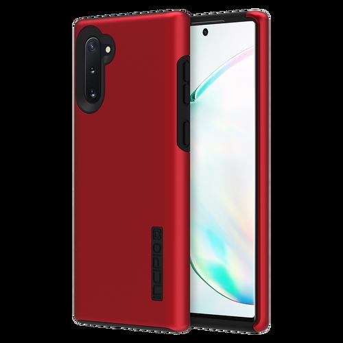 Incipio DualPro Case for Samsung Galaxy Note 10 IRIDESCENT RED/BLACK