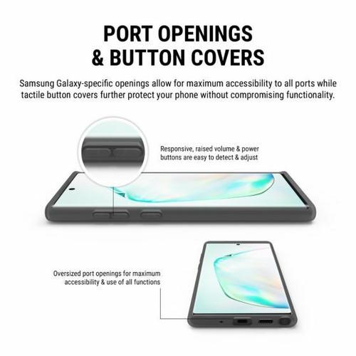 Incipio TRAN5FORM Case for Galaxy Note10+/Note10+ 5G Gray color  SA-1022-SMK